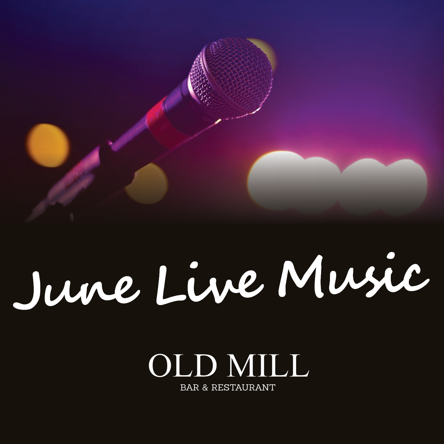 Live Music in June at The Old Mill Tallaght.