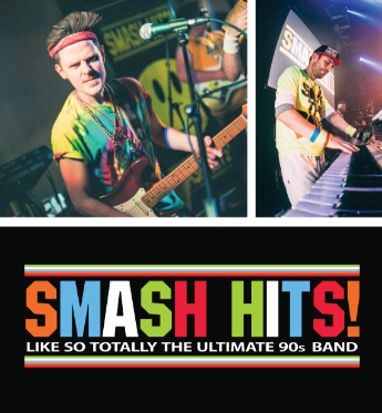 Smash Hits will hit The Old Mill stage on July 27th!